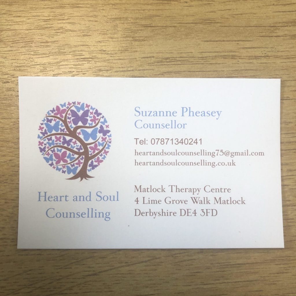 Business Card - Contact number 07871340241